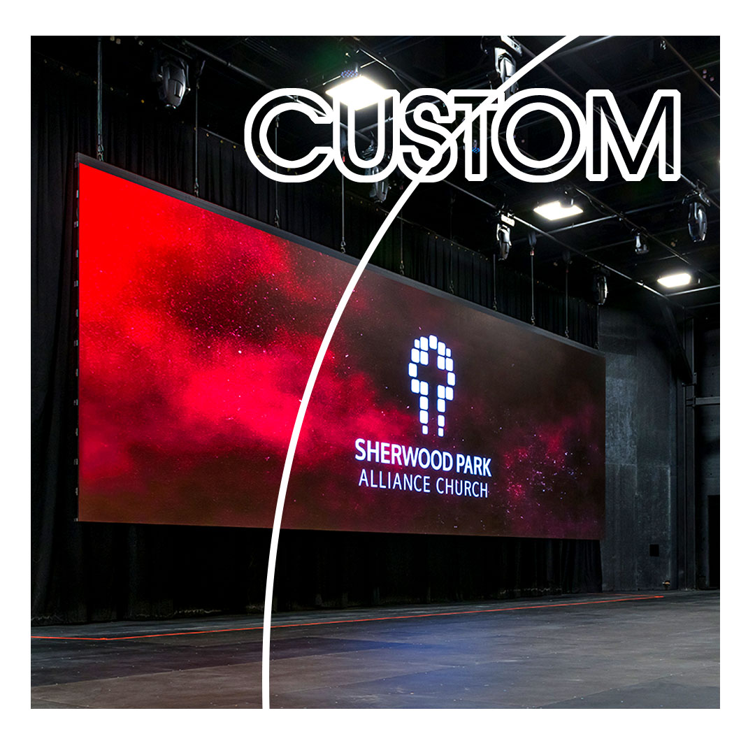 LIGHTVU Custom LED SERIES Onstage LED Video Wall SPAC