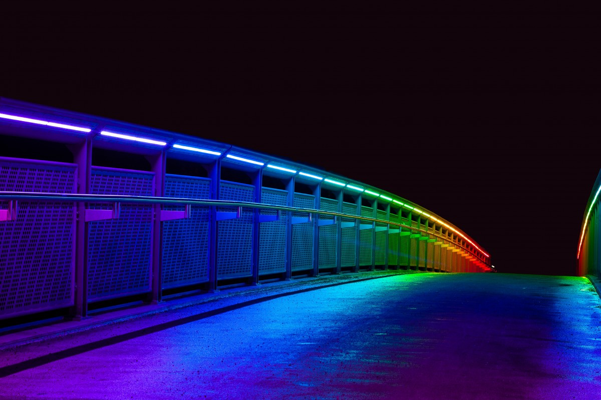LED Lighting is easily controllable and can highlight various wavelengths, colors and tones within the lighting spectrum.