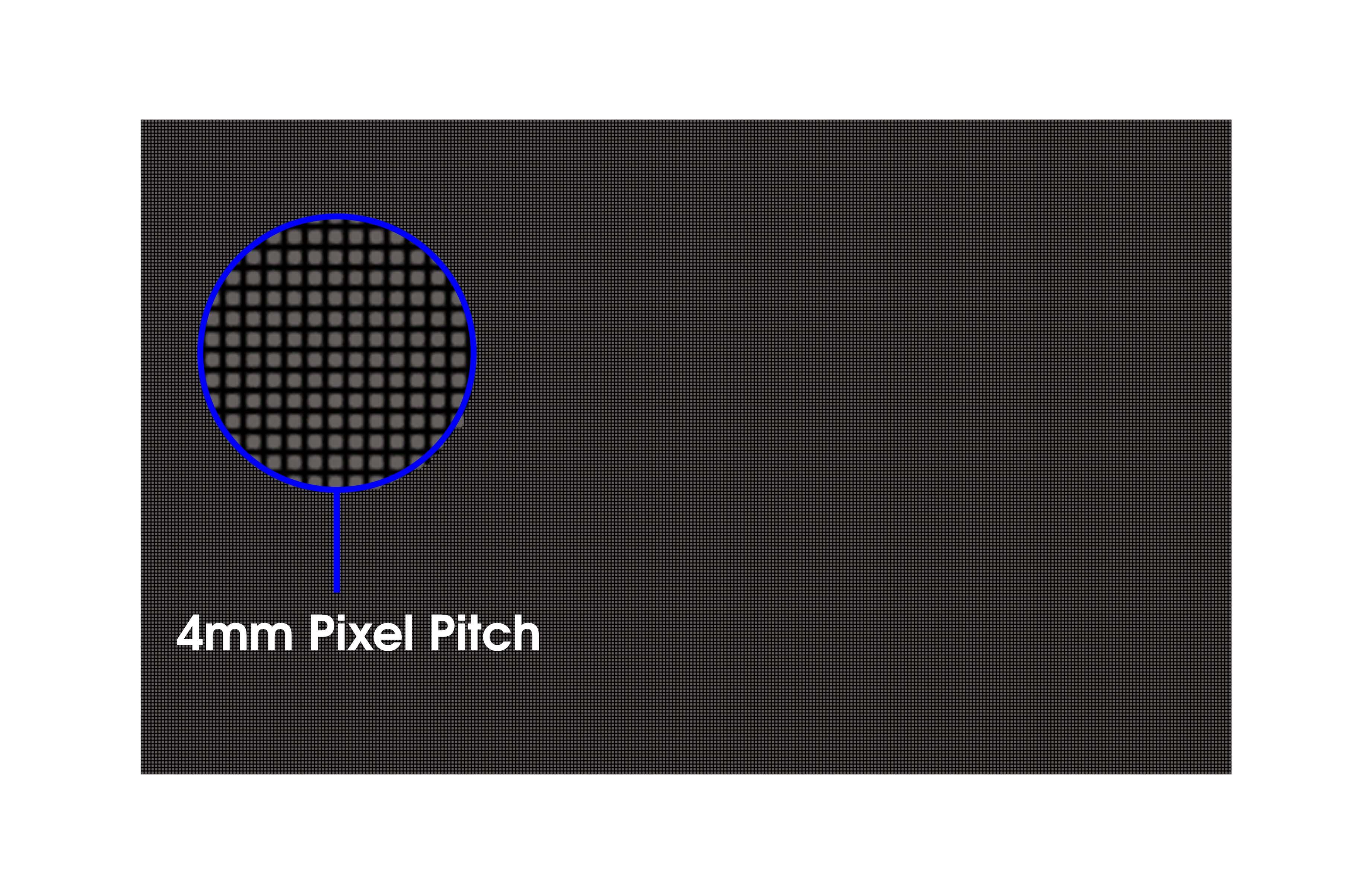 pixel pitch close up 40 mm LIGHTVU LED Display