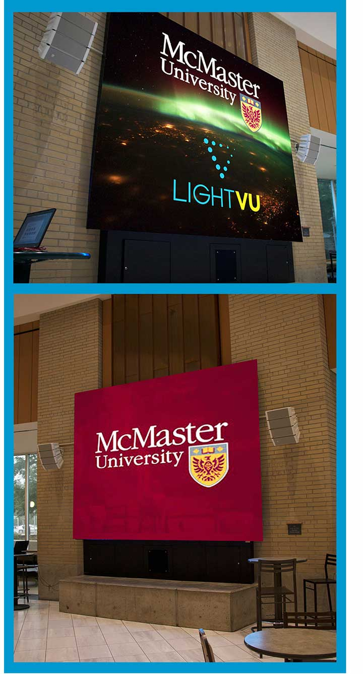 McMaster-University-LED-message-board-lobby-Display-Toronto-Canada-Aurora-LIGHTVU