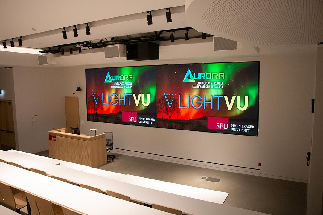 Simon-Fraser-University-Tiered-Classroom-LED-Display-Solution-Post-Secondary-Video-Wall-LIGHTVU
